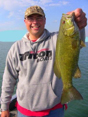 Smallmouth Bass- May Piggy