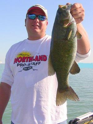 Smallmouth Bass- Nice Chicago Smallie